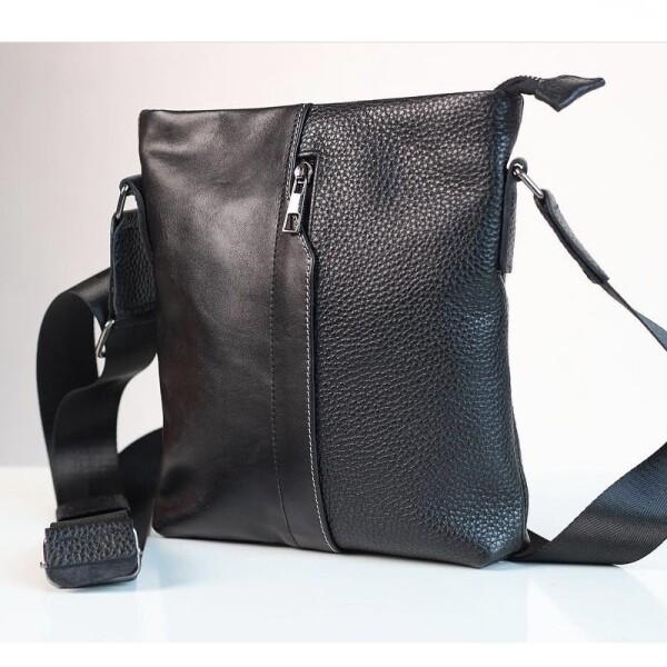 Тонкая мужская сумка «SfiP» из разнофактурной высококачественной кожи купить. Цена 1599 грн