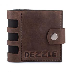 Эксклюзивный мужской бумажник «Dezzle» из кожи ручной работы купить. Цена 750 грн
