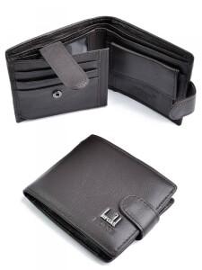 Недорогой бумажник «Imperial Horse» из качественной кожи шоколадного цвета купить. Цена 390 грн
