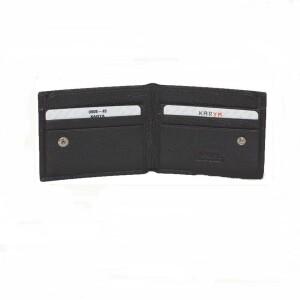 Суперкомпактный мужской бумажник «Karya» из натуральной турецкой кожи фото 1