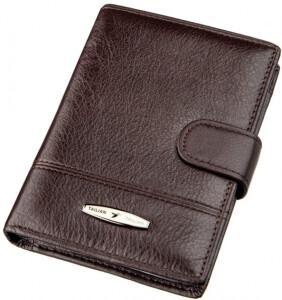 Классическое кожаное портмоне «Tailian» с файликами под автодокументы купить. Цена 670 грн
