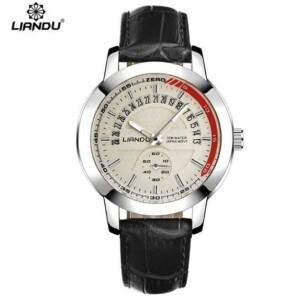 Наручные мужские часы «Liandu» с датой и отдельно тикающей секундной стрелкой купить. Цена 799 грн