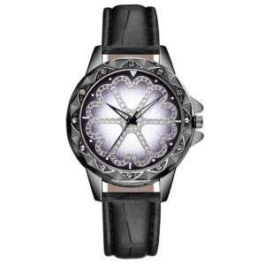 Чёрные женские часы «Yolako» с фигурным корпусом и чёрным ремешком купить. Цена 199 грн