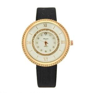 Круглые наручные часы «Ruijiu» с чёрным ремешком купить. Цена 255 грн