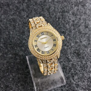 Богатые часы «Contena» с римскими цифрами и красивым браслетом купить. Цена 599 грн