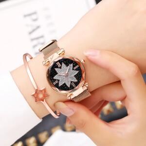 Модные женские часы «Vansvar» с металлическим ремешком с магнитной застёжкой купить. Цена 350 грн