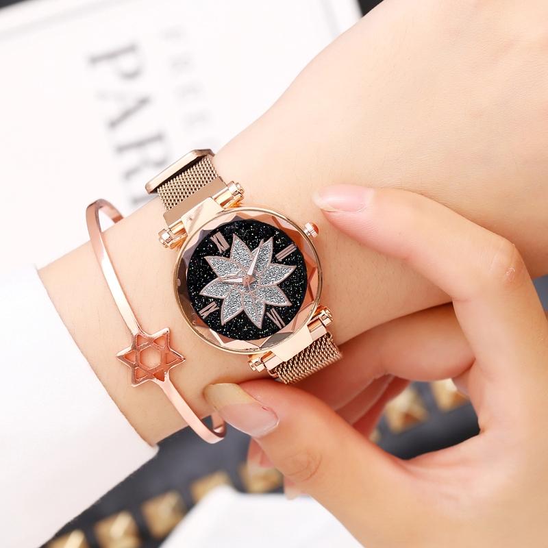 Модные женские часы «Vansvar» с металлическим ремешком с магнитной застёжкой купить. Цена 375 грн