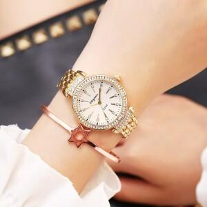 Очаровательные женские часы «Eliyina» с красивым золотым браслетом купить. Цена 440 грн