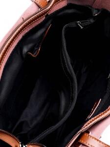 Рыжая женская сумка «Alex Rai» из натуральной гладкой кожи фото 2