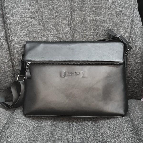 Деловая мужская сумка «SFiP» большого формата из высококачественной кожи купить. Цена 2470 грн