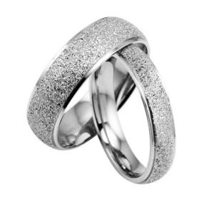 Простые кольца «Luxury» из хирургической стали без вставок, надписей и камней купить. Цена 180 грн
