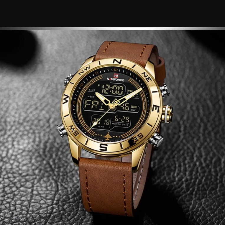 Спортивные наручные часы «Naviforce» с подсветкой, календарём и будильником купить. Цена 1490 грн