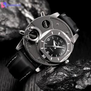 Мужские часы «Super Speed» спортивного дизайна с чёрным силиконовым ремешком купить. Цена 299 грн