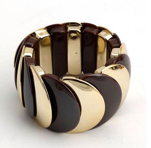Пластиковый браслет «Красочный» из цветных звеньев в виде чешуи, соединённых резинкой купить. Цена 175 грн