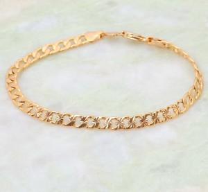 Позолоченный браслет-цепь «Оливер» с 18-ти каратным напылением арабским золотом купить. Цена 185 грн или 580 руб.