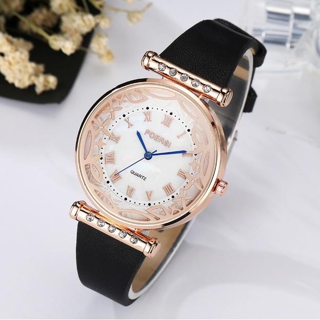 Крупные женские часы «Poersi» с красивым циферблатом купить. Цена 335 грн