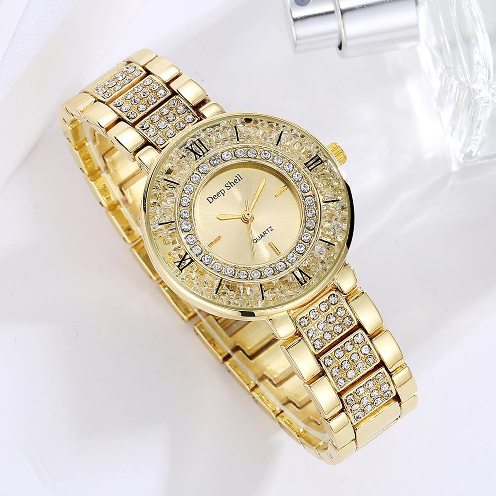 Роскошные часы «Deep Shell с красивым корпусом, наполненным стразами купить. Цена 675 грн