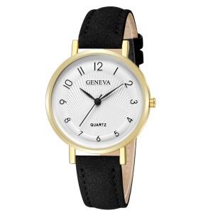 Женские часы «Geneva» с арабскими цифрами на белом циферблате купить. Цена 210 грн