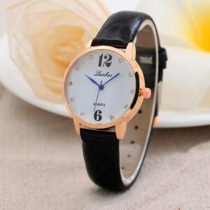 Обыкновенные женские часы «Luobos» с кварцевым механизмом фото. Купить