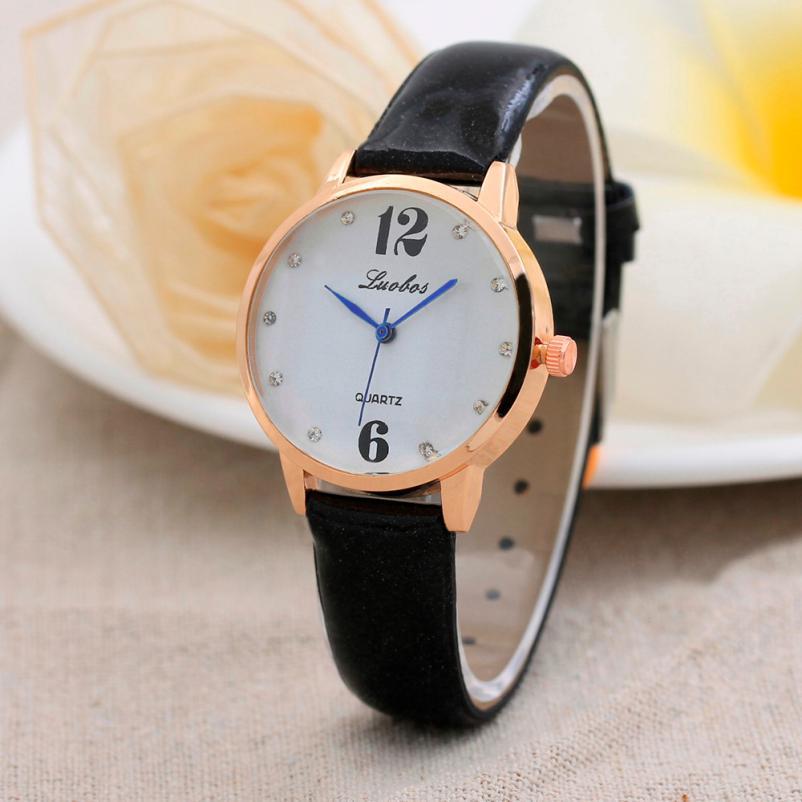 Обыкновенные женские часы «Luobos» с кварцевым механизмом купить. Цена 245 грн