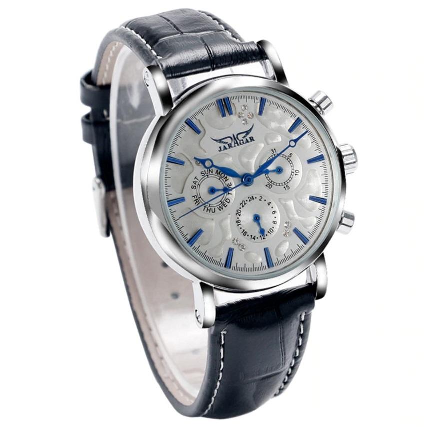 Женские механические часы «Jaragar» с автоподзаводом и календарём купить. Цена 1590 грн