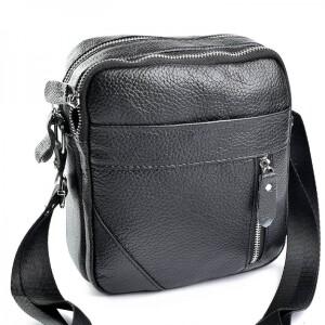 Замечательная мужская сумка «Laras» из качественной мягкой натуральной кожи фото. Купить