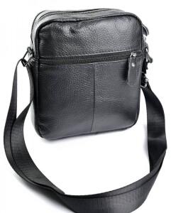 Замечательная мужская сумка «Laras» из качественной мягкой натуральной кожи фото 1