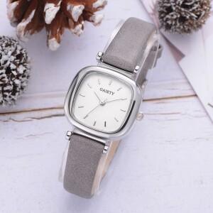 Маленькие женские часы «Gaiety» с ремешком серого цвета фото. Купить