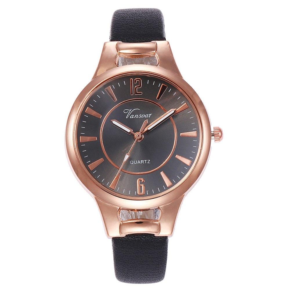 Аккуратные женские часы «Vansvar» классического стиля купить. Цена 255 грн