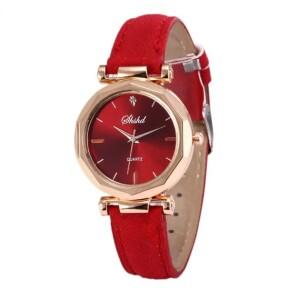 Недорогие женские часы ярко-красного цвета купить. Цена 165 грн