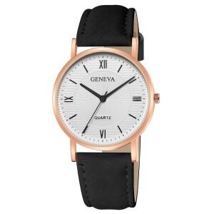 Деловые женские часы «Geneva» с классическим дизайном купить. Цена 235 грн