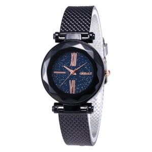 Чёрные наручные часы «Grealy» с полимерным ремешком купить. Цена 235 грн