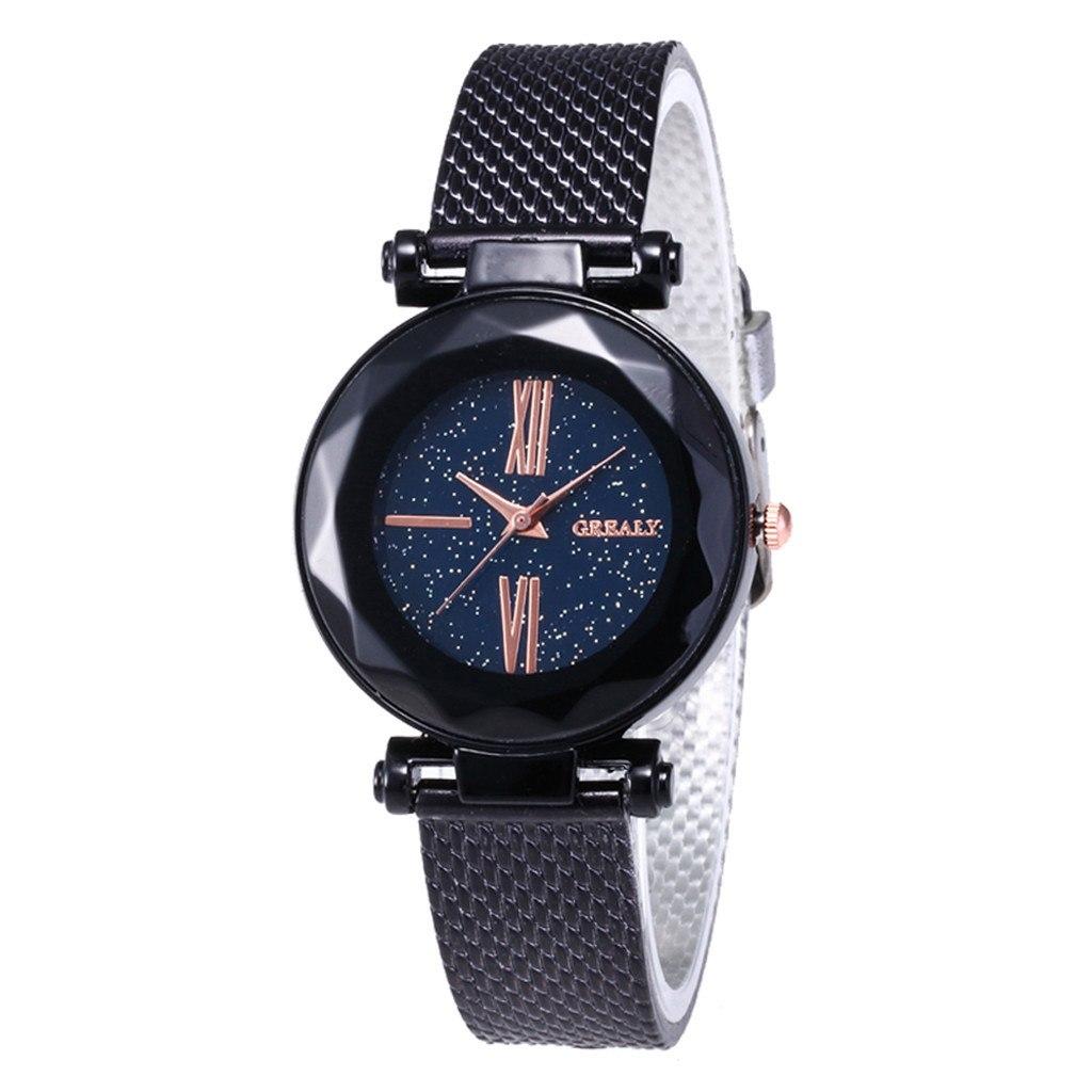 Чёрные наручные часы «Grealy» с полимерным ремешком купить. Цена 290 грн