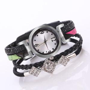 Летние часы «Quartz» в виде браслета из нескольких ремешков купить. Цена 245 грн