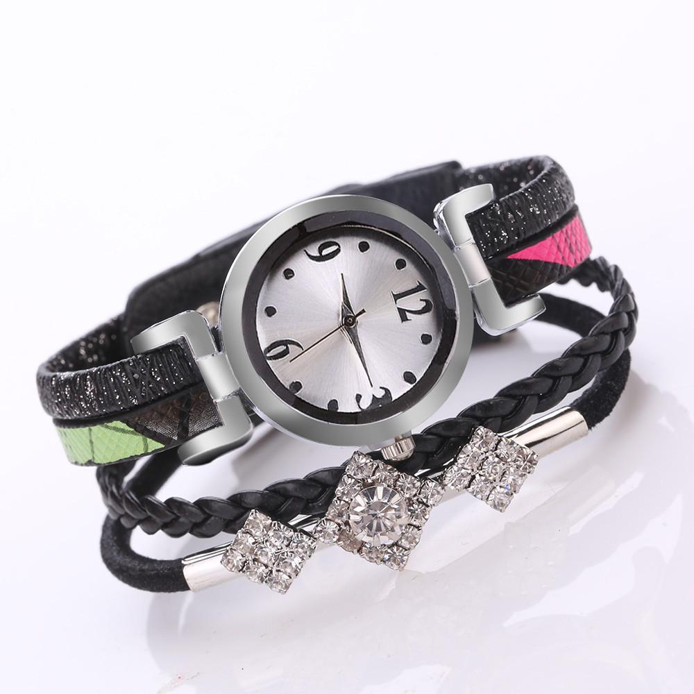 Летние часы «Quartz» в виде браслета из нескольких ремешков купить. Цена 285 грн