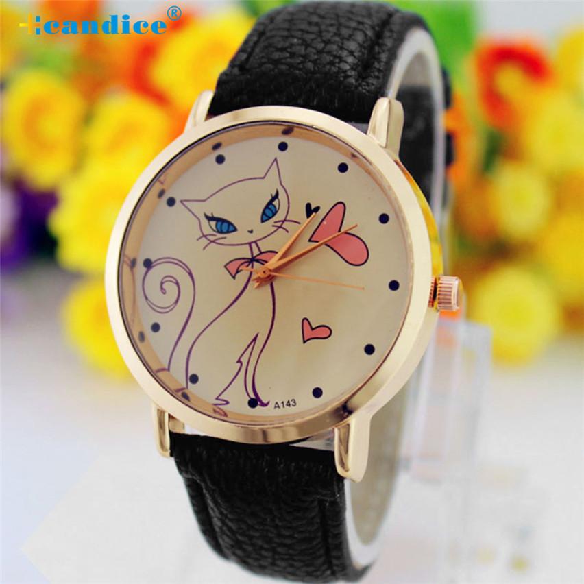 Молодёжные часы «Botti» с милой кошечкой на циферблате купить. Цена 235 грн