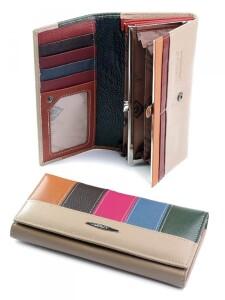 Классический кошелёк «Imperial Horse» из разноцветной кожи купить. Цена 499 грн