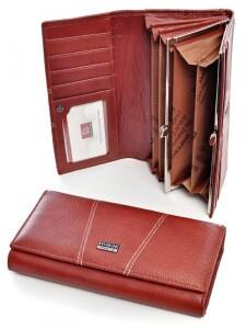 Повседневный кошелёк «Imperial Horse» из кожи тёмно-красного цвета купить. Цена 470 грн