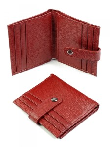 Супертонкий кошелёк «Baliya» из зернистой кожи без монетника купить. Цена 340 грн