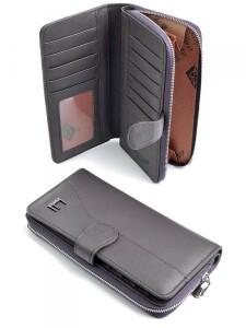 Практичный кошелёк «Imperial Horse» из мягкой кожи пурпурного цвета купить. Цена 550 грн