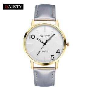 Модные часы «Gaiety» с креативным циферблатом и серебристым ремешком купить. Цена 199 грн