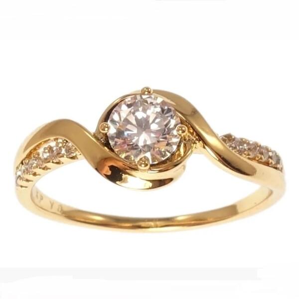 Чудесное кольцо «Саманта» с высококачественной позолотой от Xuping купить. Цена 185 грн