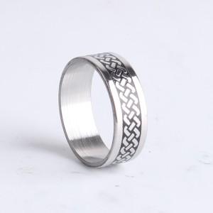 Классное кольцо «Gedeon» из медицинского сплава с красивым плетёным орнаментом купить. Цена 165 грн