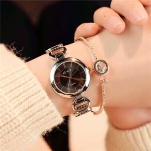 Лаконичные женские часы «IE-LY» с красивым металлическим браслетом фото. Купить