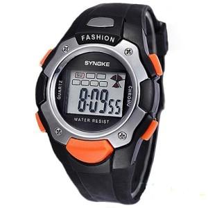 Спортивные наручные часы «Synoke» с подсветкой, календарём и будильником фото. Купить