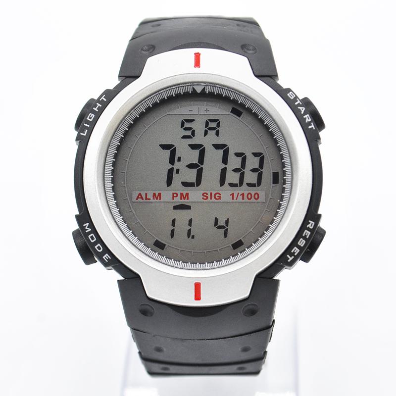 Универсальные мужские часы «Honhx» с большим циферблатом и каучуковым ремешком купить. Цена 295 грн