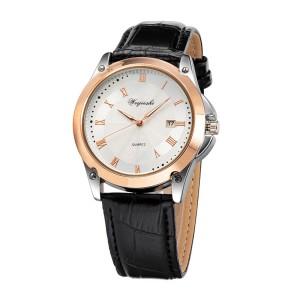 Качественные мужские часы «Weijieshi» с двухцветным корпусом и римскими цифрами фото. Купить