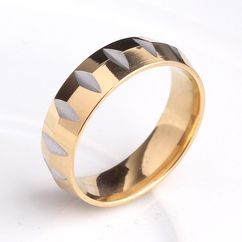 Брутальное кольцо фирмы «Gedeon» из медицинского сплава с поперечными зарубками купить. Цена 165 грн
