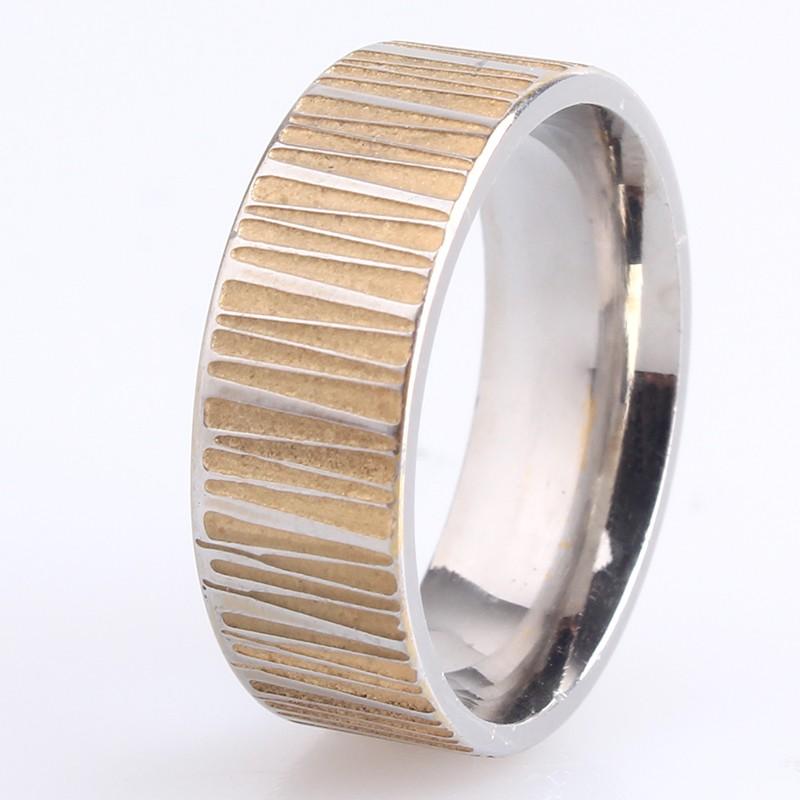 Нержавеющее кольцо фирмы «Gedeon» рельефной фактуры из медицинского сплава купить. Цена 165 грн
