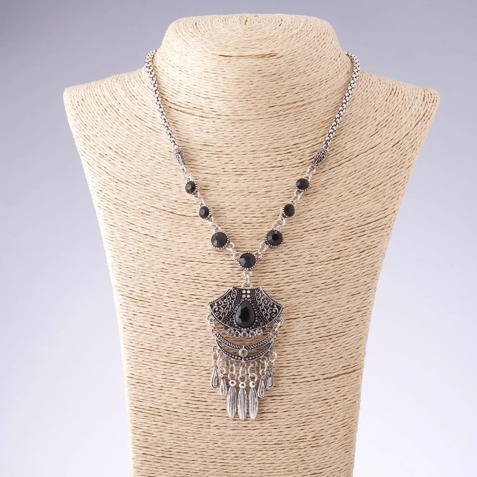 Восточная подвеска «Ясмин» с покрытием под античное серебро купить. Цена 260 грн